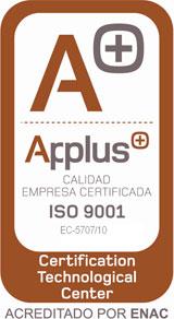 Empresa Certificada Calidad ISO 9001